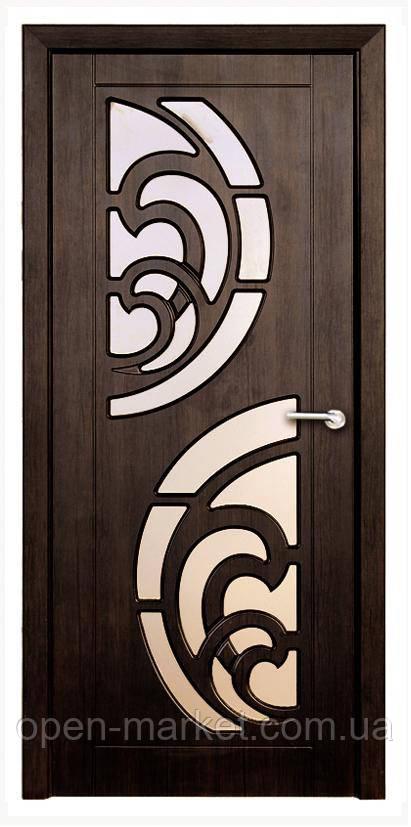 Модель Прибой (тик) ПО, межкомнатные двери, Николаев