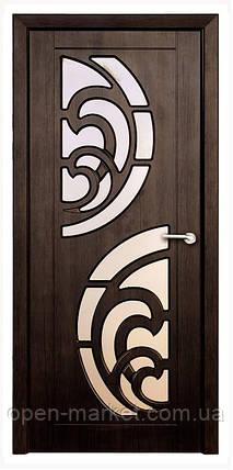 Модель Прибой (тик) ПО, межкомнатные двери, Николаев, фото 2