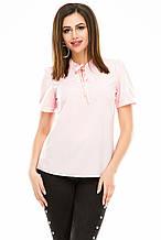 Блузка 483 розовая