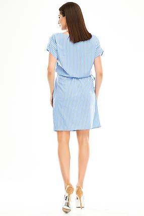 Платье 288 голубая полоска, фото 2