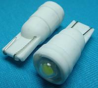 Светодиодная лампа W5W T10 cree керамика
