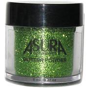 Глиттеры рассыпчатые AsurA cosmetics 09 Green