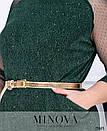 Платье Минова 423 р 54-64 зеленый, фото 3