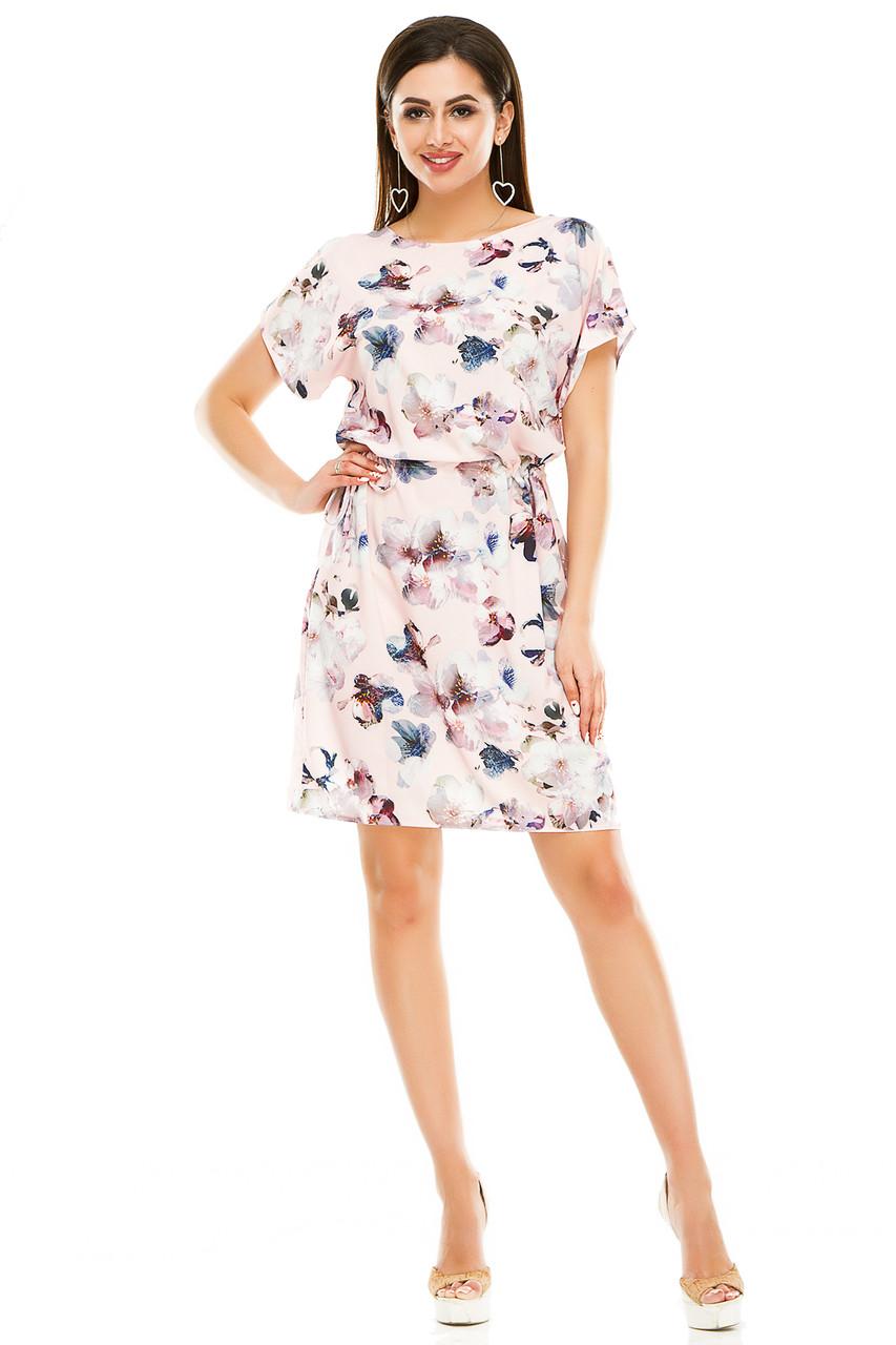 Платье 288 розовое