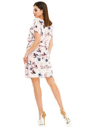 Платье 288 розовое, фото 2
