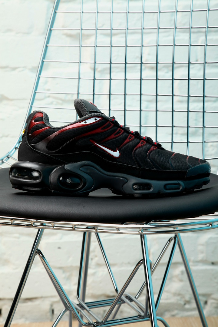 b3ab4e45 Мужские кроссовки Nike Air Max Tn Red/Black: продажа, цена в Киеве ...