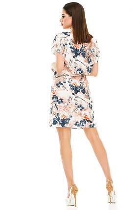 Платье 288  бежевая роза, фото 2