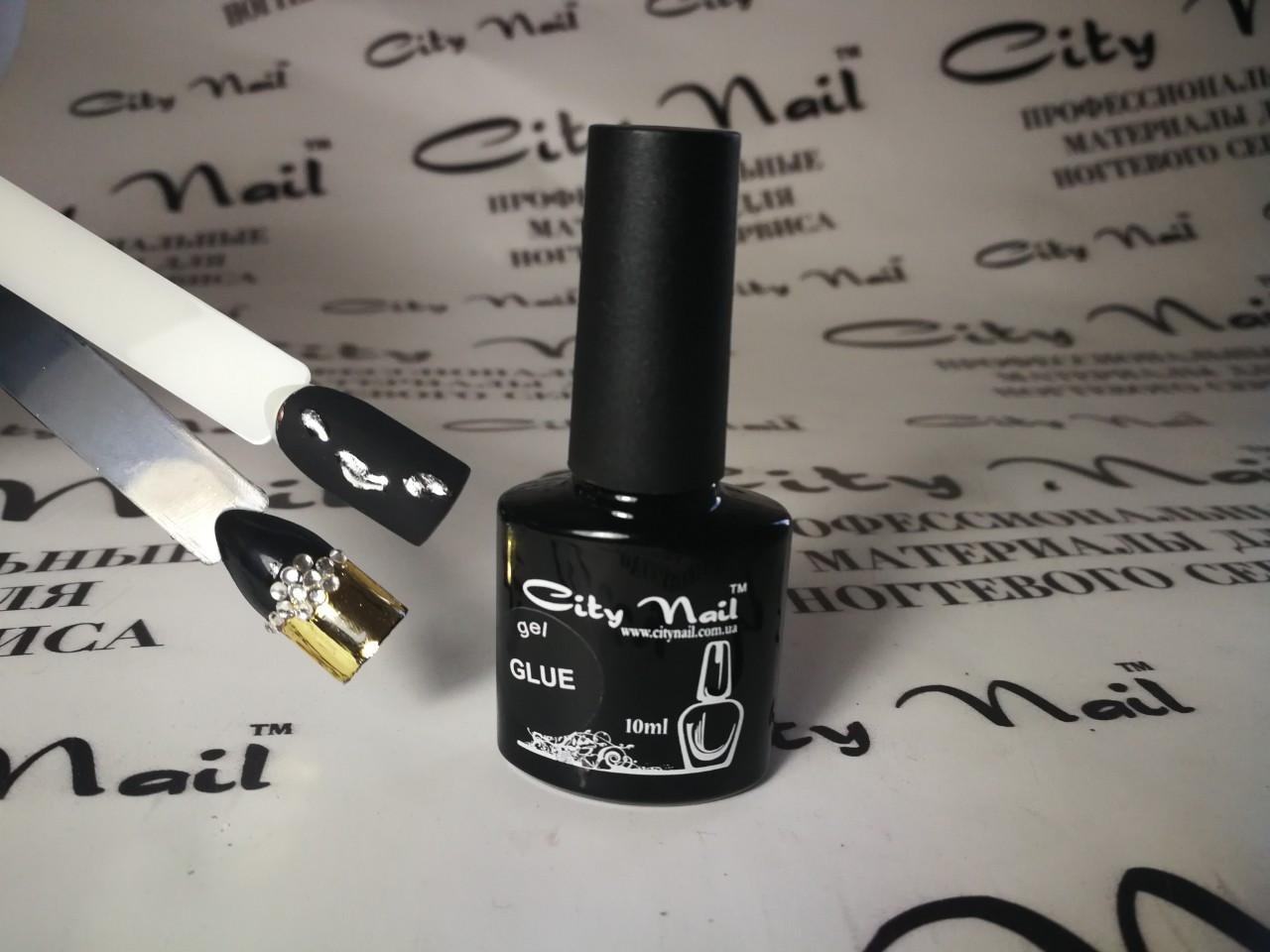 Клей - гель для фольги і страз на нігті ( Клей для фольги нігтів )