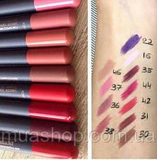 Aden Карандаш для губ 034 Lipliner Pencil (34/RUSSIAN RED) 1,14 gr, фото 2