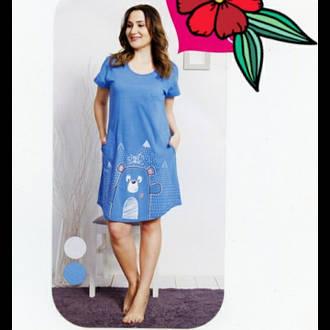 d35854e0bed4 Атласная ночная сорочка на бретельках оптом Jasmin 1809: продажа ...