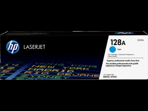 Заправка картриджа HP CE321A(128A) синий