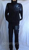 Мужской спортивный костюм 4 цвета джинсовыми вставками 002/ купить скпортивный костюм