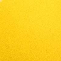Фетр листовой 20x30 см, 1 мм, Желтый