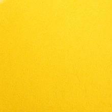 Фетр жесткий 1 мм, лист 20x30 см, желтый (Китай)