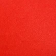 Фетр жесткий 1 мм, лист 20x30 см, красный (Китай)