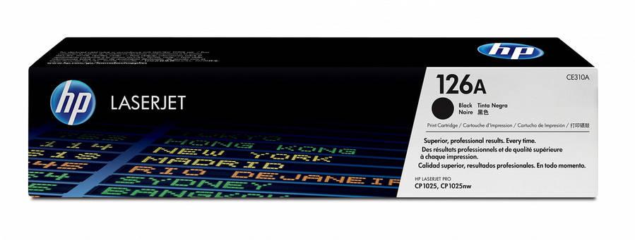 Заправка картриджа HP CE310A (126А) черный, фото 2