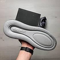 Мужские кроссовки светло-серые радужные на подошве с воздушными вставками, фото 2