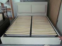 Двуспальные кровати с мягким изголовьем, мягкая мебель для спальни от производителя купить Украина, фото 1