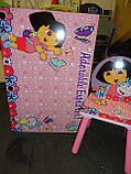 """Детский столик со стульчиками Dorlin Dora J 002-051 «Даша путешественница""""киев, фото 4"""
