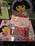 """Детский столик со стульчиками Dorlin Dora J 002-051 «Даша путешественница""""киев, фото 7"""