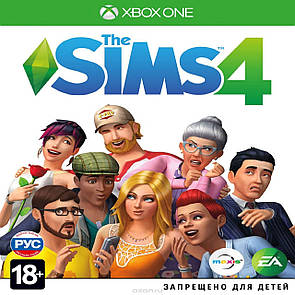 Sims 4 (російська версія) XBOX ONE (Б/В)