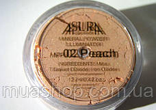Минеральные румяна ASURA 02 Peach, фото 3