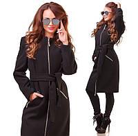 Женское пальто на подкладке