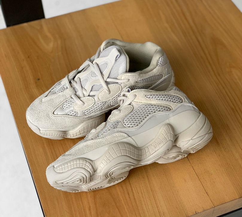 45115c8c Adidas Yeezy 500 Blush | кроссовки женские и мужские; бежевые / кремовые