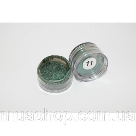 Рассыпчастые тени (Изумрудный перламутр) Cinecitta 11, фото 2