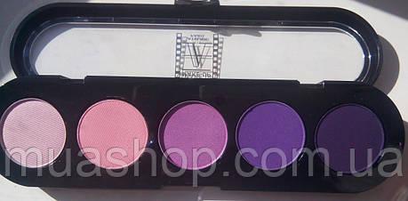 Палитра теней - Т09- розово-фиолетовая, фото 2