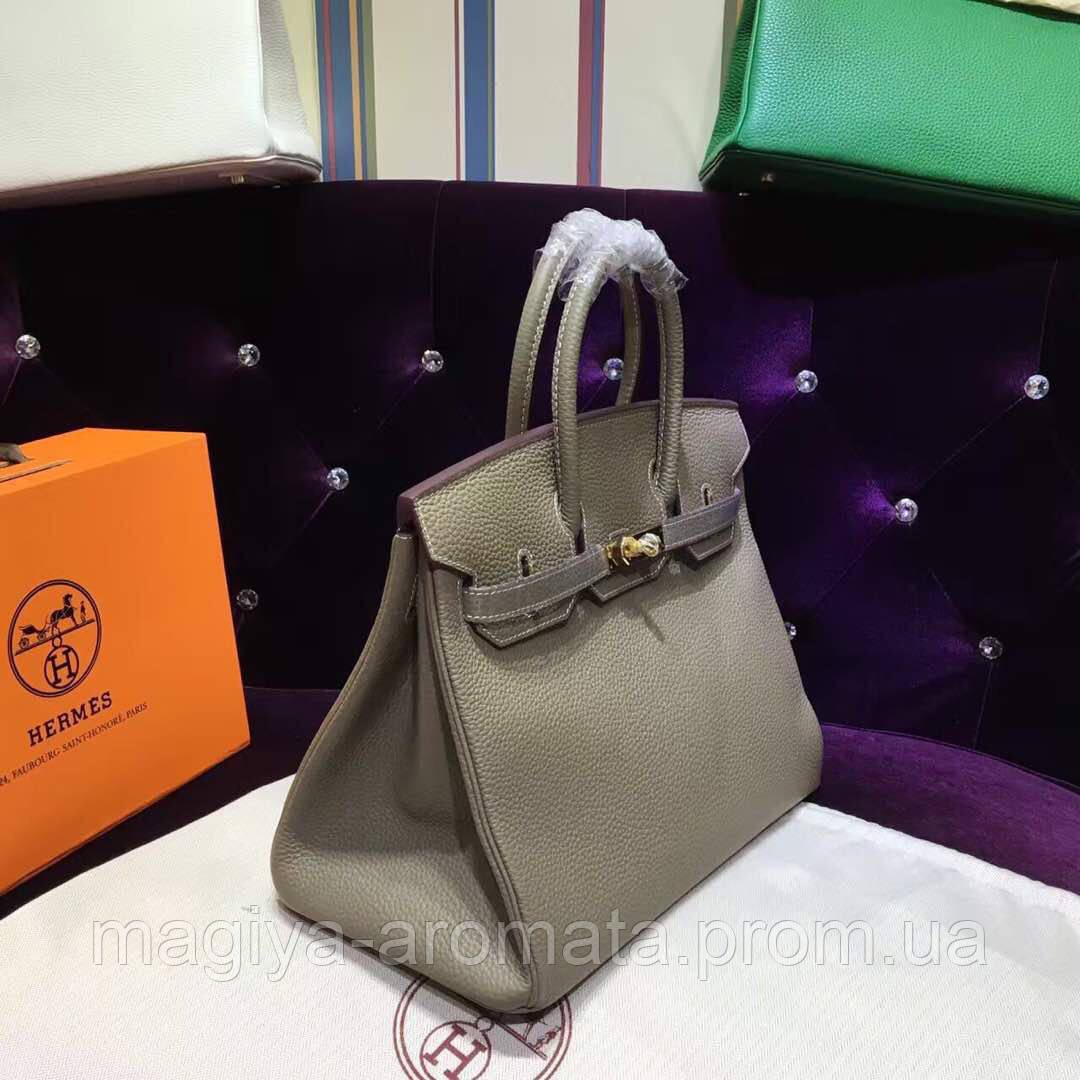 baec3402eff2 Женская сумка от Hermes 30 см цвет пуда шикарная Original quality Гермес  Биркин Эрме - Магия