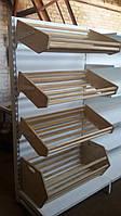Торговые стеллажи для хлеба б/у (Авилон), фото 1
