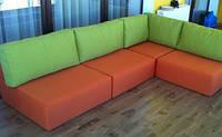 Модульные диваны на заказ, диван-пуфик