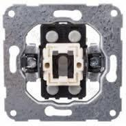 Механізм вимикача 2-клавішного 16А  230В (б/гвинт)