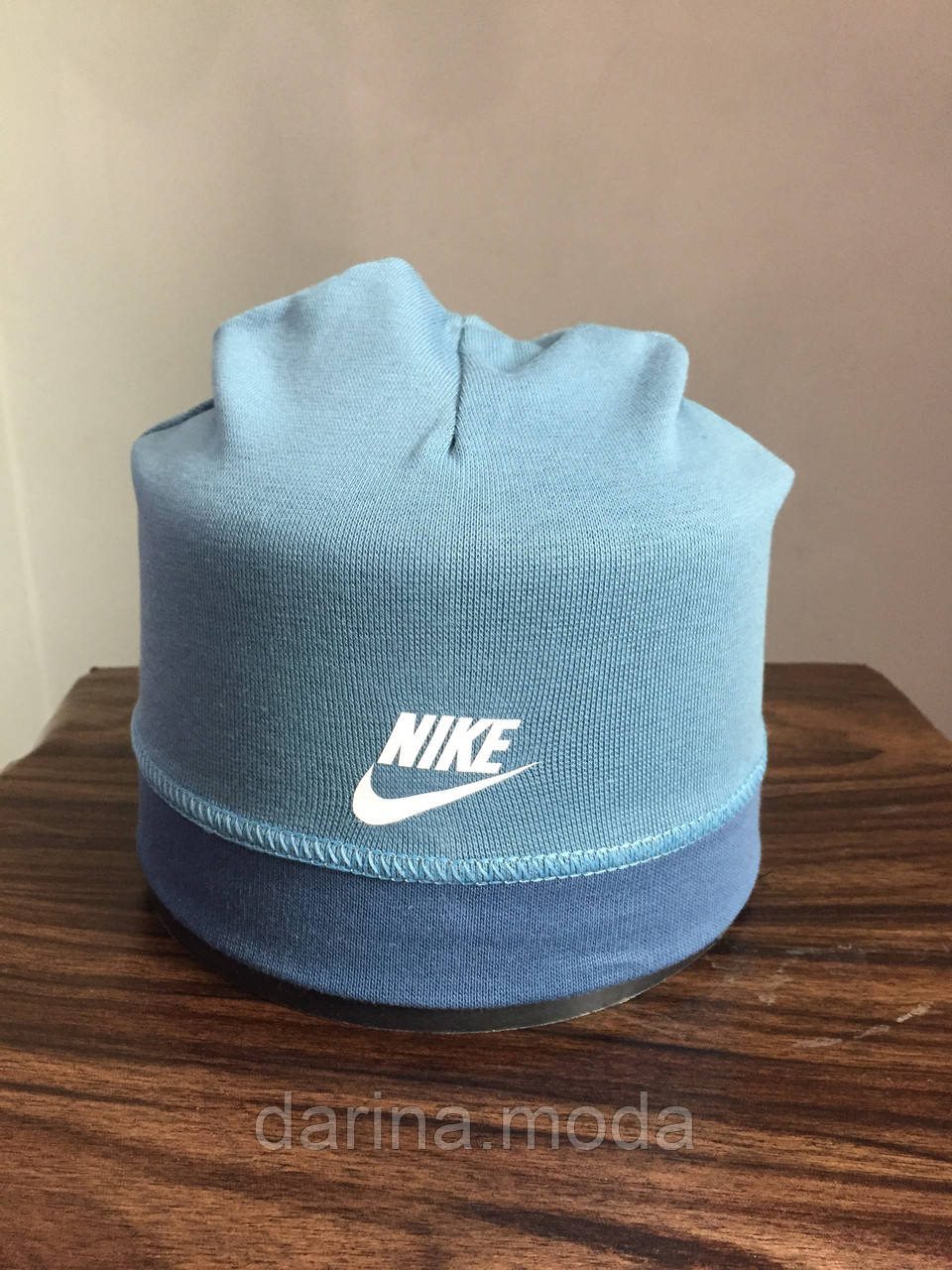 Трикотажная круглая шапочка для мальчика