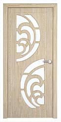 Модель Прибой (карпатская ель)  ПО, межкомнатные двери, Николаев