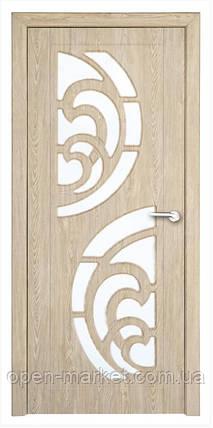 Модель Прибой (карпатская ель)  ПО, межкомнатные двери, Николаев, фото 2