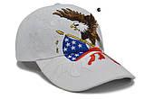 USA бейсболка чоловіча, жіноча, унісекс, кепка, фото 7