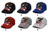 USA бейсболка чоловіча, жіноча, унісекс, кепка, фото 5
