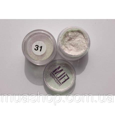Рассыпчастые тени ( бело-розовая слюда) Cinecitta 31, фото 2