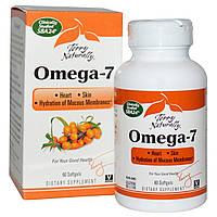 Витамины для кожи Омега-7 (облепиховое масло) EuroPharma 60 капсул