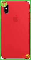 Чехол Apple iPhone XS/X Silicone Case (HC) - Red