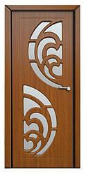 Модель Прибой (золотой дуб)  ПО, межкомнатные двери, Николаев