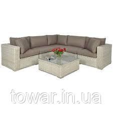 Комплект кутового дивана для відпочинку VEGA 3 кольори
