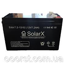 Аккумуляторная батарея SXA 7,2-12 (технология AGM)