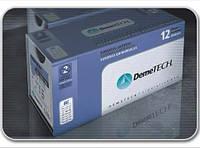 DemeCRYL Полиглактин 910  1, игла 35 мм, 1/2 окр, колющая, нить 90 см синяя