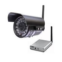 Мощный 1 W комплект беспроводного видеонаблюдения 2.4 Ghz с дальностью передачи до 1 км (модель 928F), фото 1
