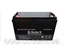 Аккумуляторная батарея SXA 100-12 (технология AGM)