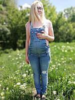 Джинсовый комбинезон для беременных 42 44 46 48 50