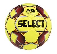 Мяч футбольный для детей SELECT FLASH TURF (размер 4)